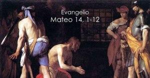 Mateo 14, 1-12