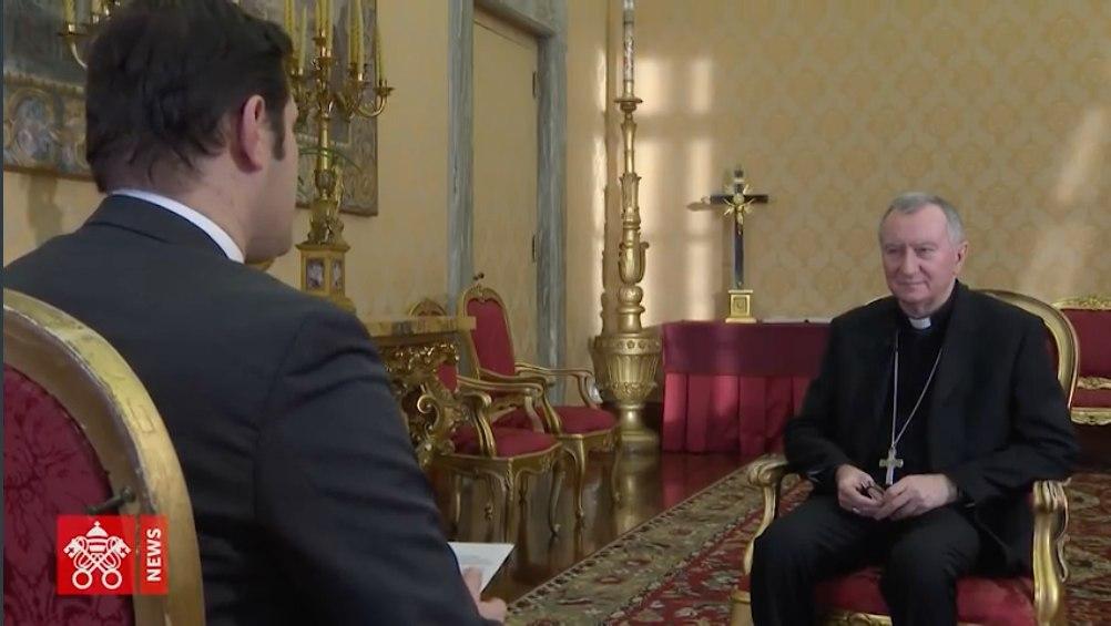Entrevista al Card. Parolin realizada por Alessandro Gisotti de Vaticannews