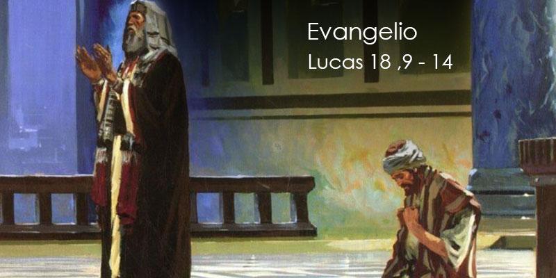 Resultado de imagen para Lucas 18, 9-14
