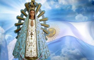 bandera-argentina-virgen-lujan