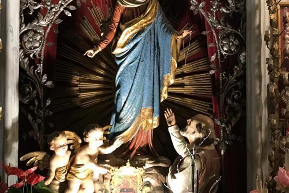 Imagen de Nuestra Seńora de Montallegro