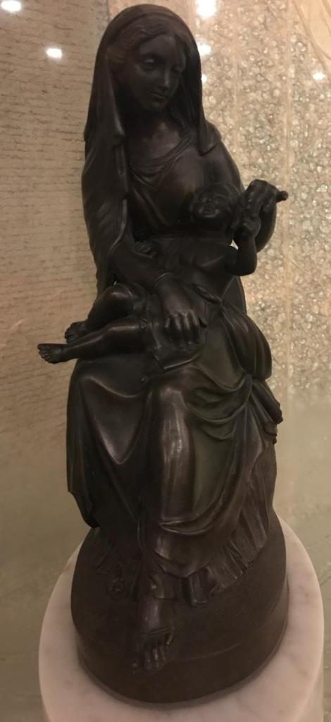 Imagen de Maria traida desde Portugal en el siglo XV o XVI