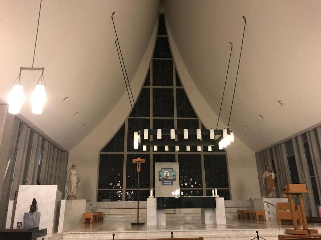 Interior de la Catedral de Kyoto