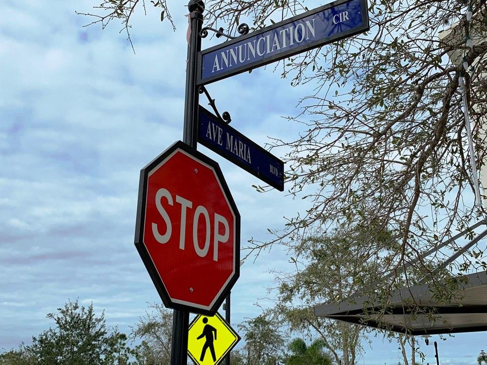 Indicador de cruce de calles