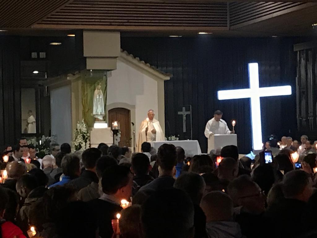 Santa Misa en la Capilla de las apariciones