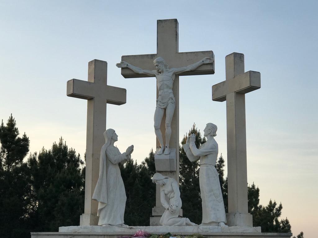 Ultima estacion del Via Crucis