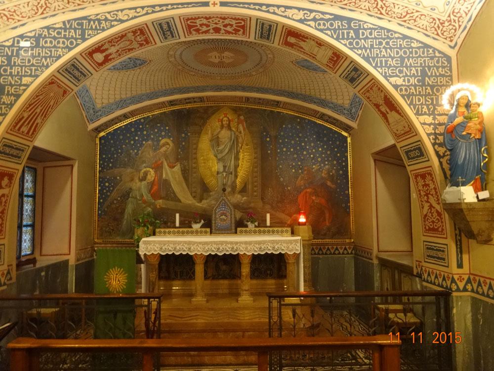 Altar Capilla Pinardi - Imagen de la Consolata