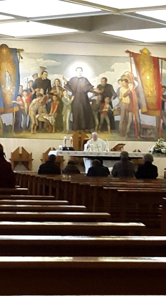 Celebracion de la Santa Misa