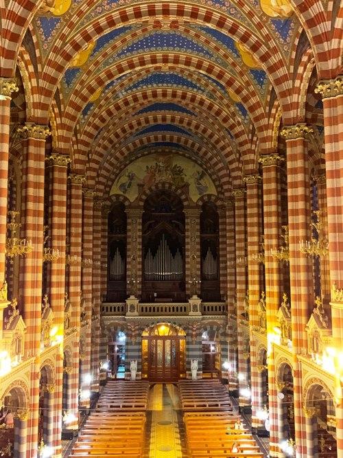Organo desde el Camarin de la Virgen