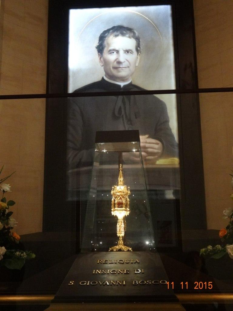 Reliquia de Don Bosco