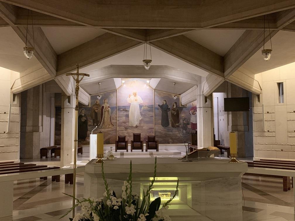 Iglesia - Juan Pablo II - Santuario