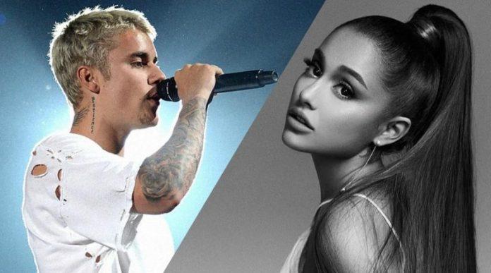 Ariana Grande and Justin Bieber believe how the hymn of the quarantine?