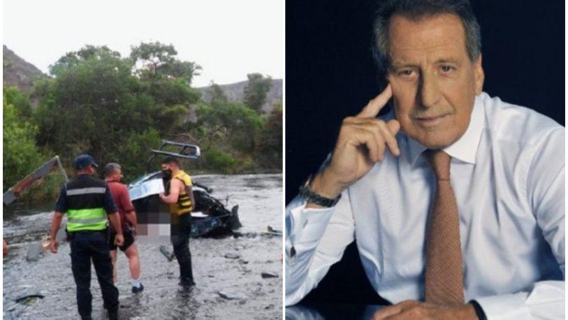 La muerte de Jorge Brito: confirman que el helicóptero impactó con los cables de una tirolesa antes de caer
