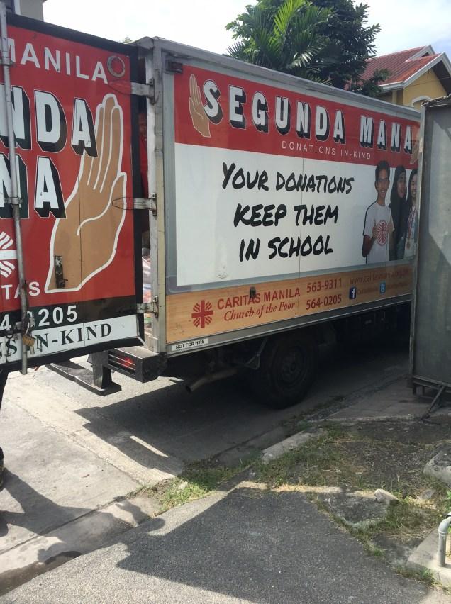 The Segunda Mana truck