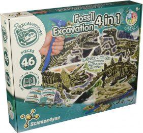 juego excavaciones fosiles
