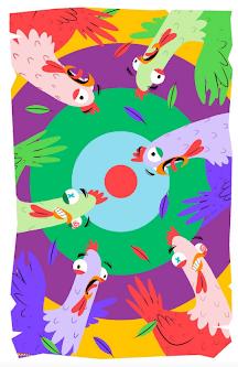 gallinas escapatorias