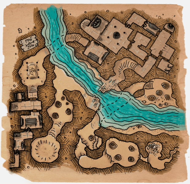 Ravine River Dungeon (Click to enlarge)