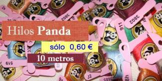 madejas Panda de hilo para bordado a punto de cruz