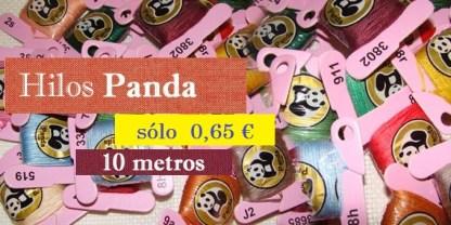 madejas Panda para bordado a punto de cruz