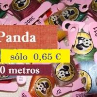 Madejas Panda (hilo para punto de cruz)