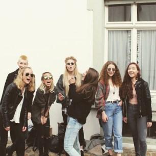 ... Tatjana, Albiana, Claire und Viviane <3