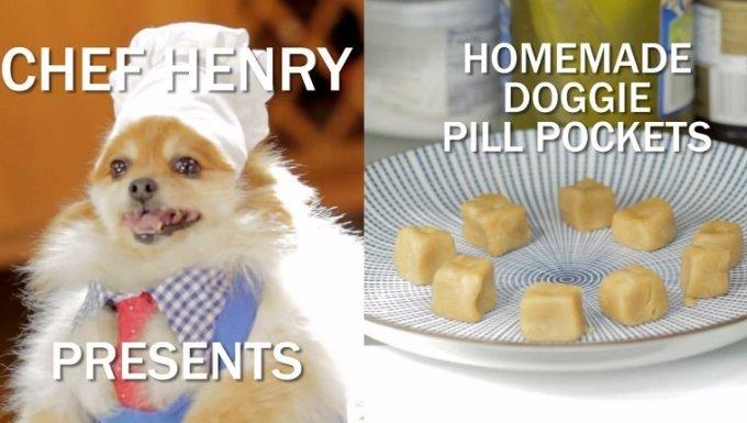 Cocine a Henry con bolsas de pastillas