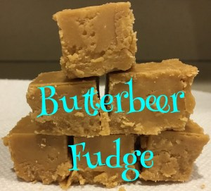 Butterbeer Fudge