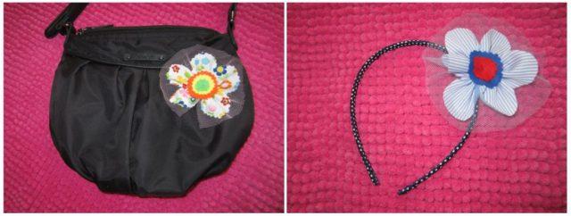 mis nancys, mis peques y yo, tutorial facil DIY flor de tul colores diadema