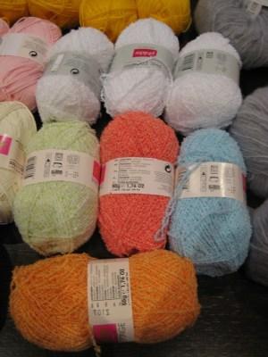 mis nancys, mis peques y yo, lanas colores