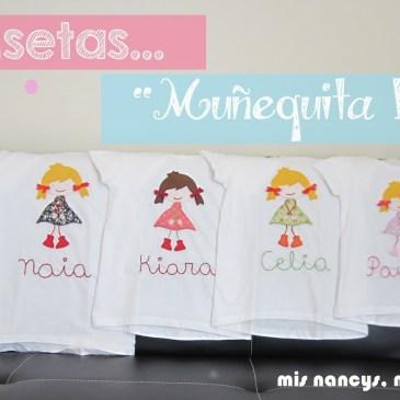 Camisetas «Muñequita Linda» (Regalos para 7, parte 2)