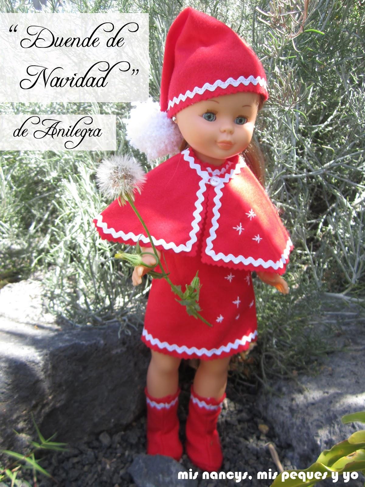 Disfraz «Duende de Navidad» de Anilegra para Nancy