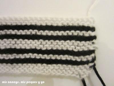 mis nancys, mis peques y yo, tutorial jersey de lana para Nancy, detalle manga