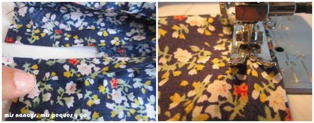 mis nancys, mis peques y yo, tutorial blusa sin mangas niña (patrón gratis), doblar bies abertura