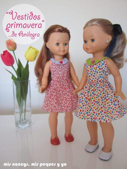 mis nancys, mis peques y yo, vestidos primavera para nancy de anilegra