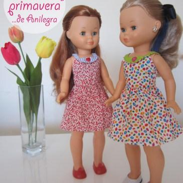 Vestidos «Primavera» de Anilegra para Nancy