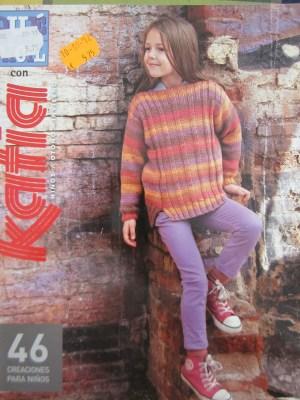 mis nancys, mis peques y yo, Tutorial DIY como bloquear un jersey de lana, revista Katia
