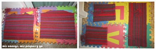 mis nancys, mis peques y yo, Tutorial DIY como bloquear un jersey de lana, dejar secar