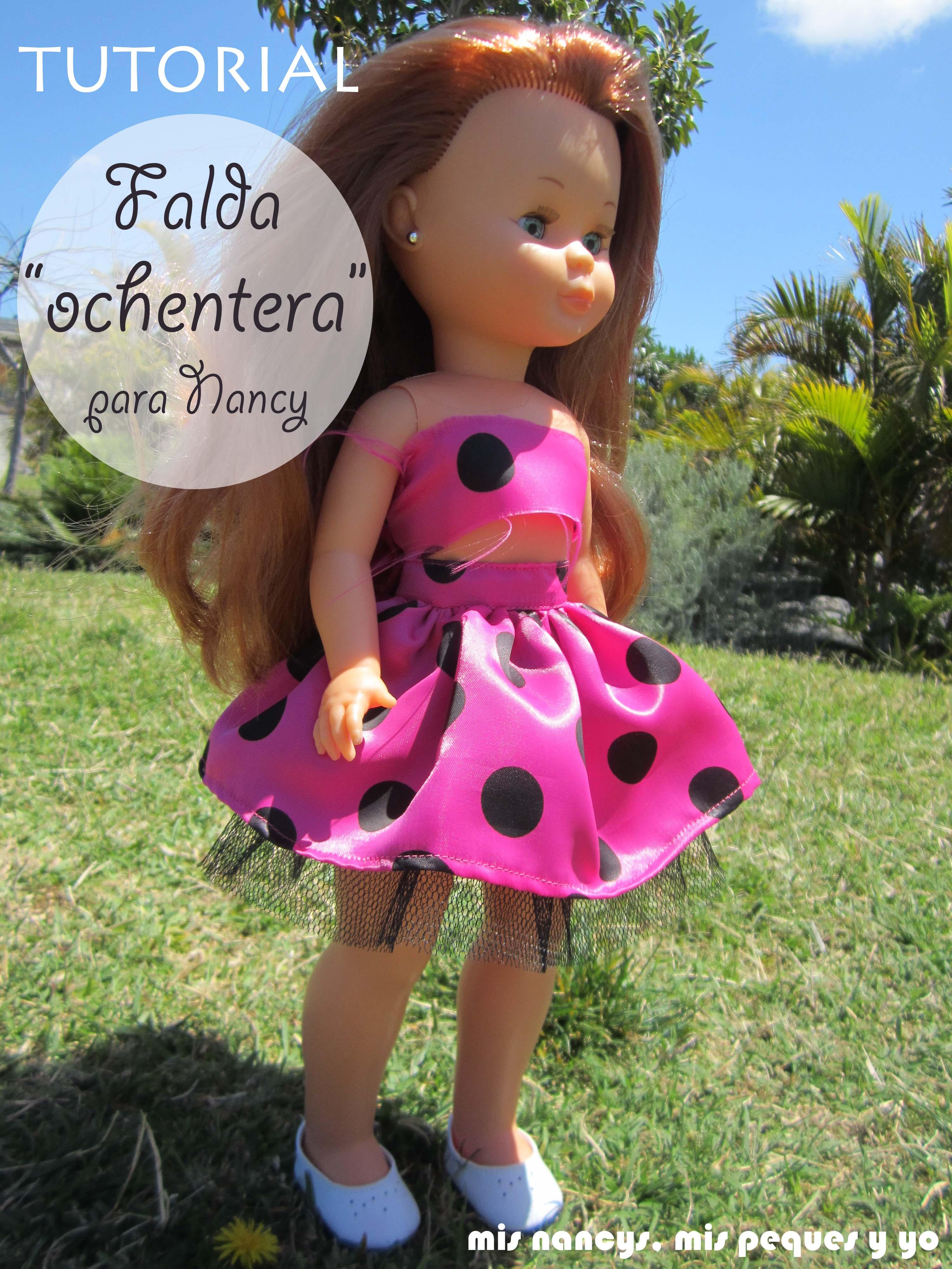 """Tutorial DIY: Falda fruncida con tul """"Ochentera"""" (para Nancy y para niñas)"""