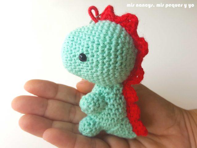 mis nancys, mis peques y yo, dragón amigurumi pequeño