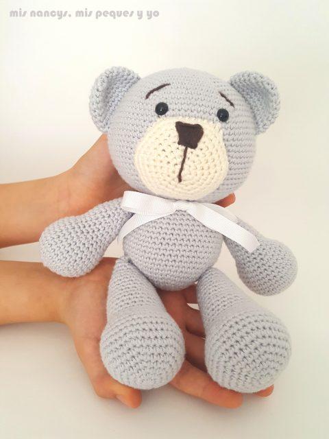 mis nancys, mis peques y yo, oso amigurumi patrón gratis
