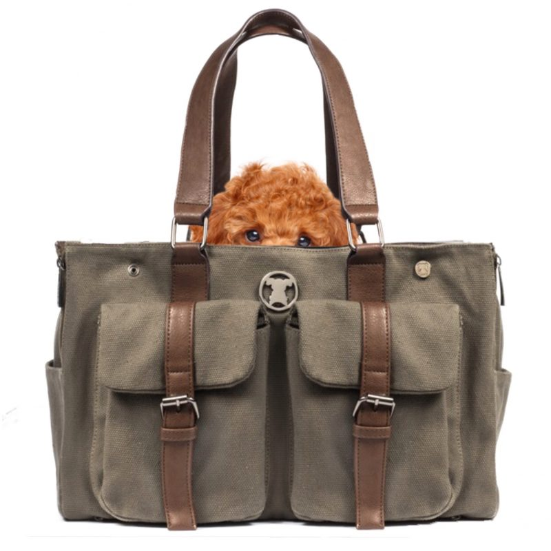 Green Weekend Shell Tote