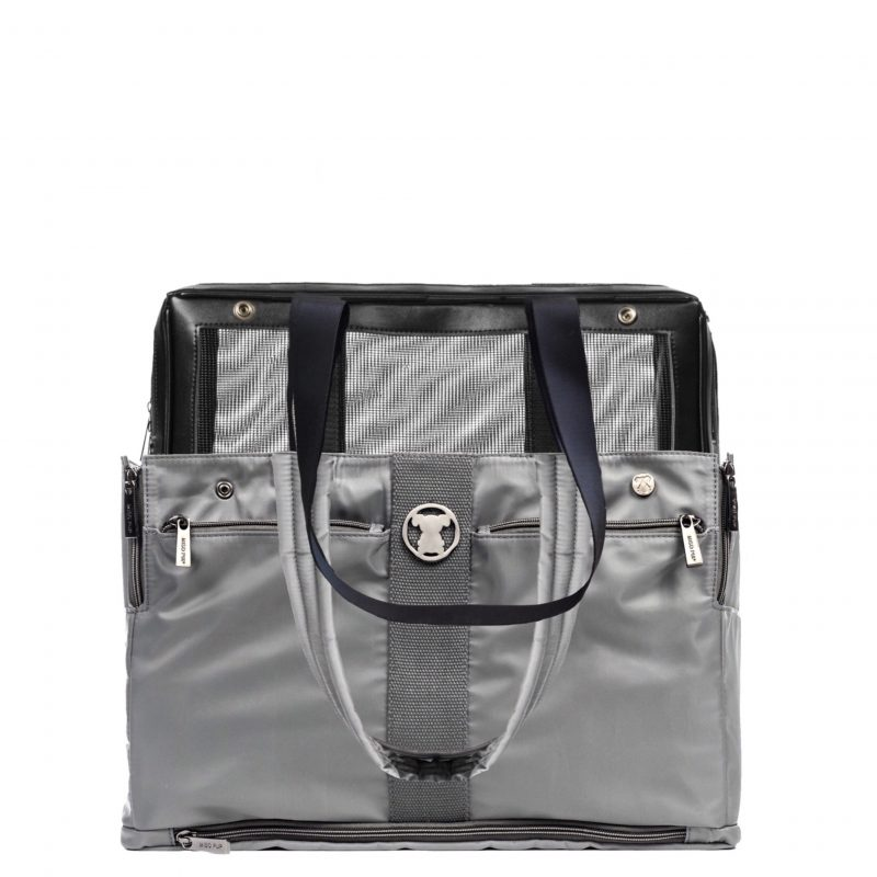 Grey Timeless Pet Carrier