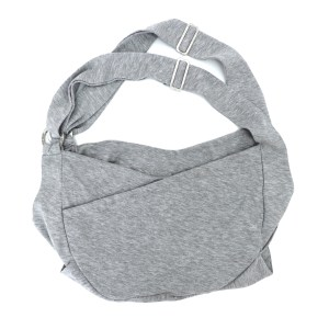 Miso Pup Sling in Heather Grey
