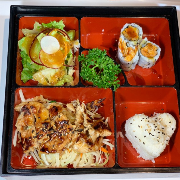 Lunch Bento Box Menu