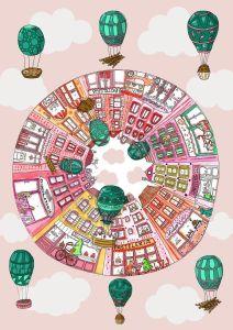 """Microrrelato """"La ciudad de la felicidad"""" 1 Mis Palabras con Letras"""