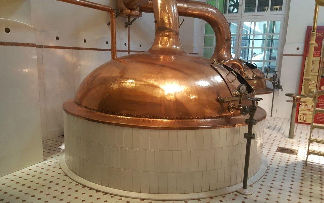 Visita a la fábrica de cerveza Ámbar