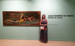 Exposición Julio Romero de Torres 6 Mis Palabras con Letras