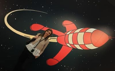 Exposición «Tintín y la Luna»
