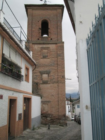 Torre de la Iglesia de San Luis de los Franceses. Albaicín. Foto: Francisco López