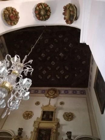 Armadura de madera. Capilla lateral. San Pedro y San Pablo. Granada